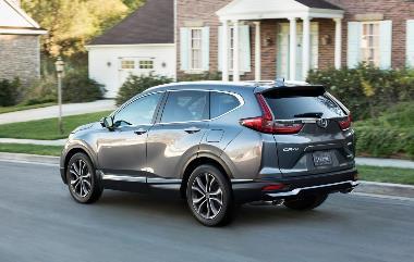2020 Honda CR-V_Rear_left